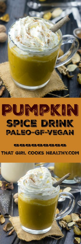 pumpkin spice drink