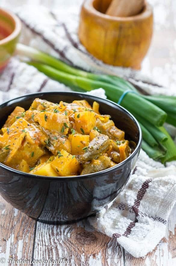 curried jackfruit