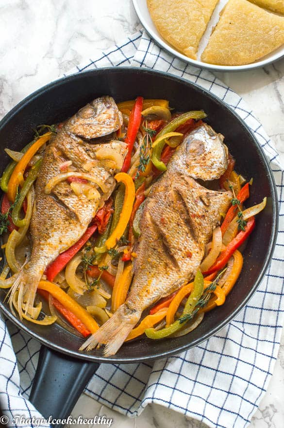 Jamaican steamed fish that girl cooks healthy for How to steam fish