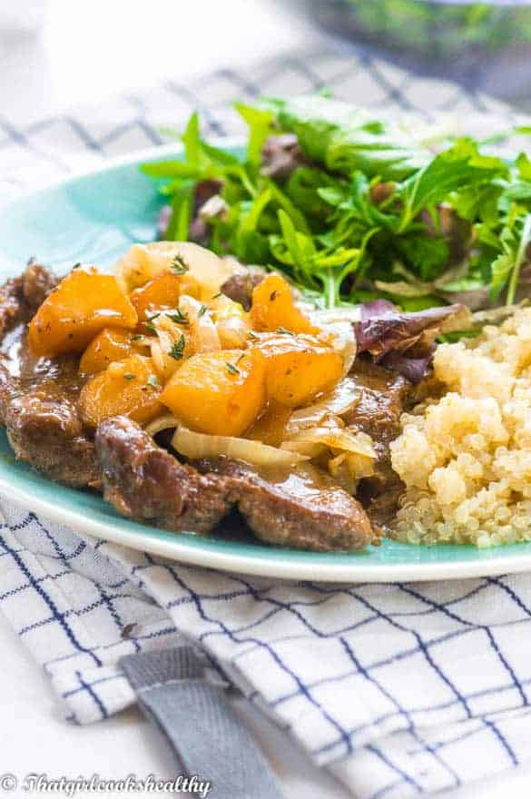 That girl cooks healthy uk blogger gluten and dairy free another main meal recipe that im adding to the blog this one features lamb leg steaks and a recipe which is currently on rotation in my house forumfinder Image collections