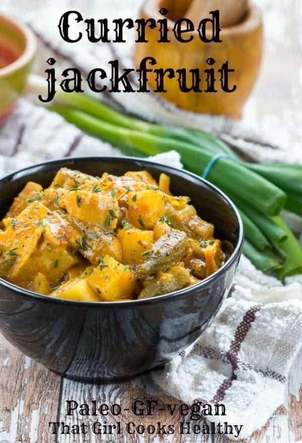 curried jackfruit
