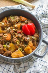 Jamaican beef stew recipe
