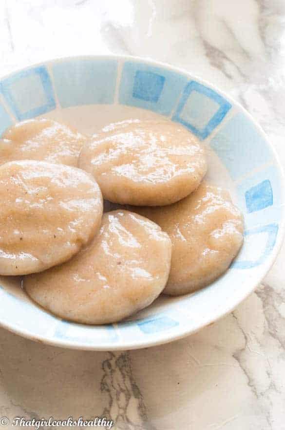 Jamaican boiled dumpling