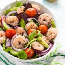 Delicious simple low carb keto salad that's great for weightloss