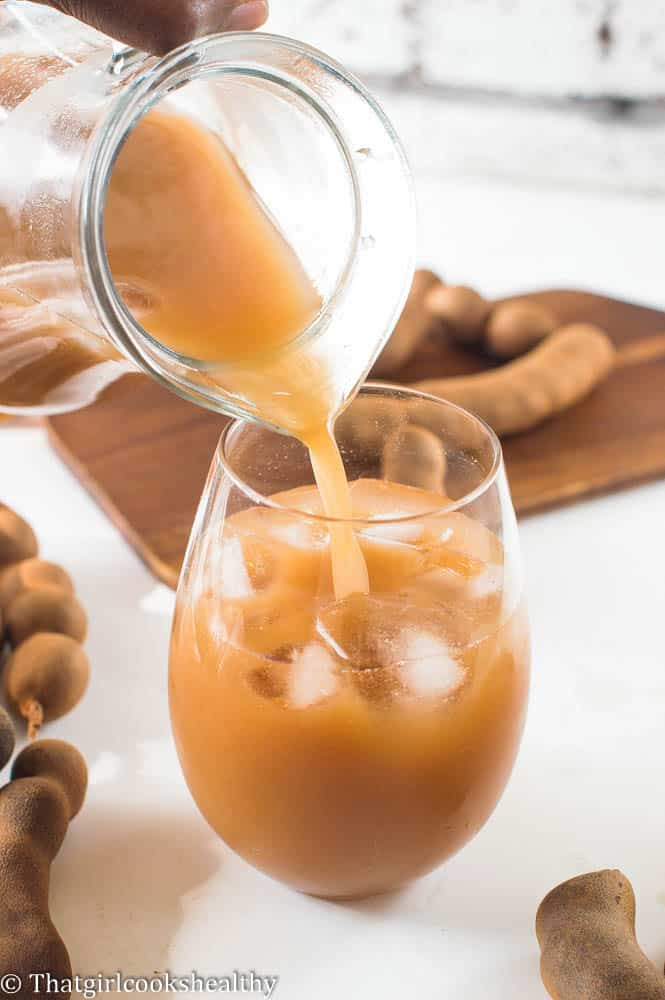 Tamarind juice recipe - That Girl Cooks Healthy
