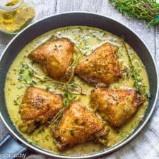 Creamy coconut curry chicken