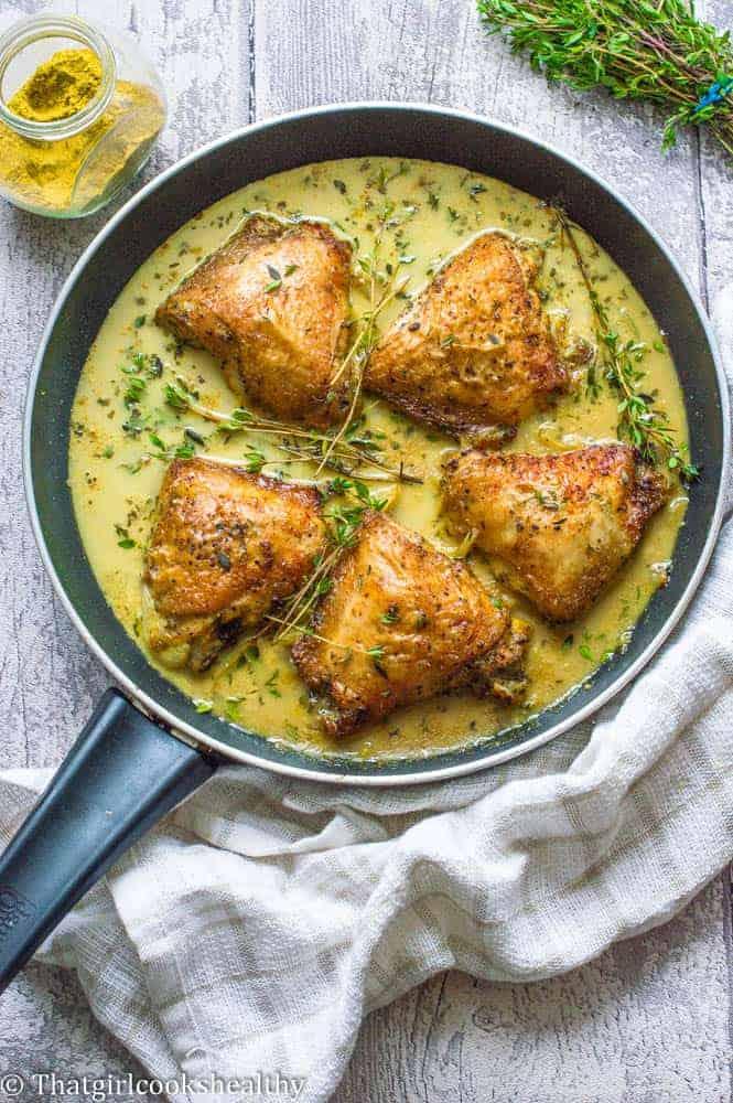 Creamy coconut curry chicken