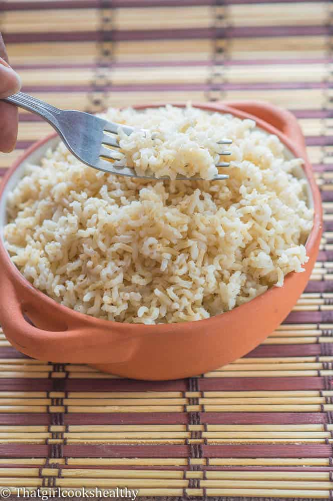 How to cook brown rice perfectly - That Girl Cooks Healthy