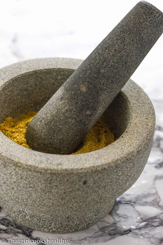 poudre de colombo (colombo powder)
