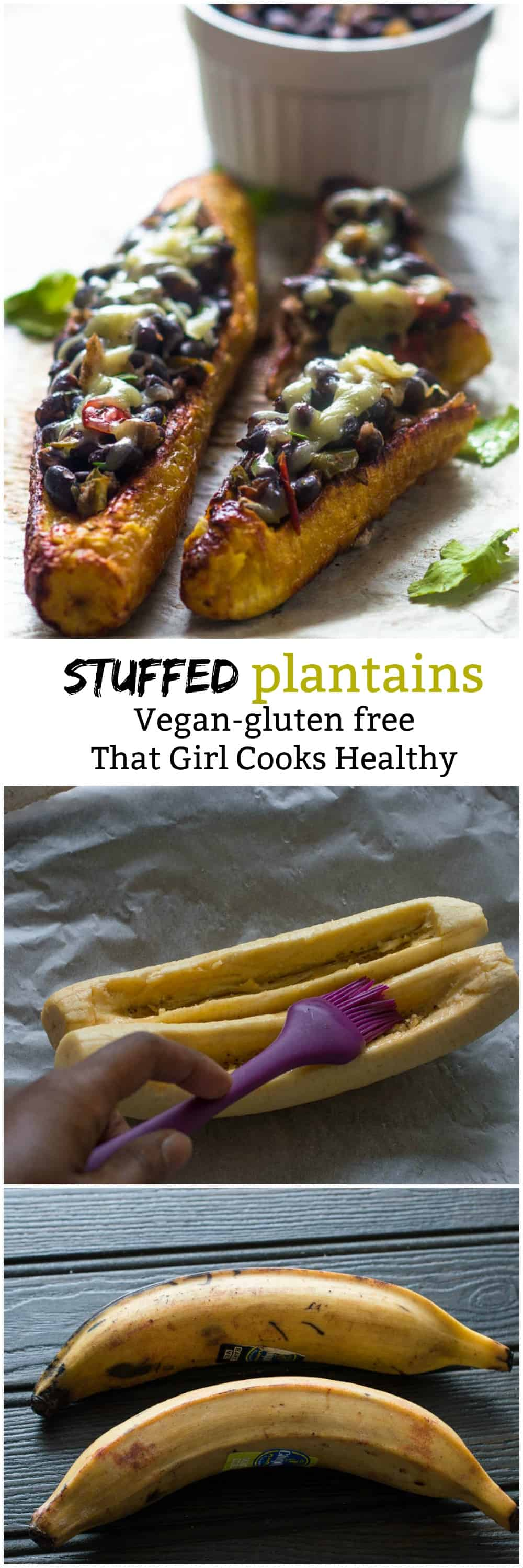 stuffed plantains