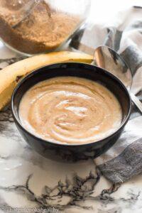 Yellow plantain porridge