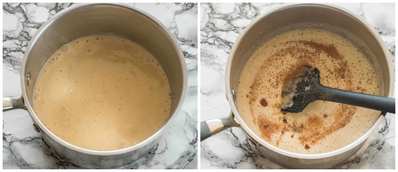 yellow plantain porridge steps 3-4