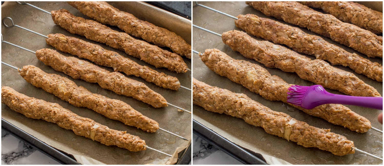 lamb kofta kebabs steps 5 6 - Lamb kofta kebabs