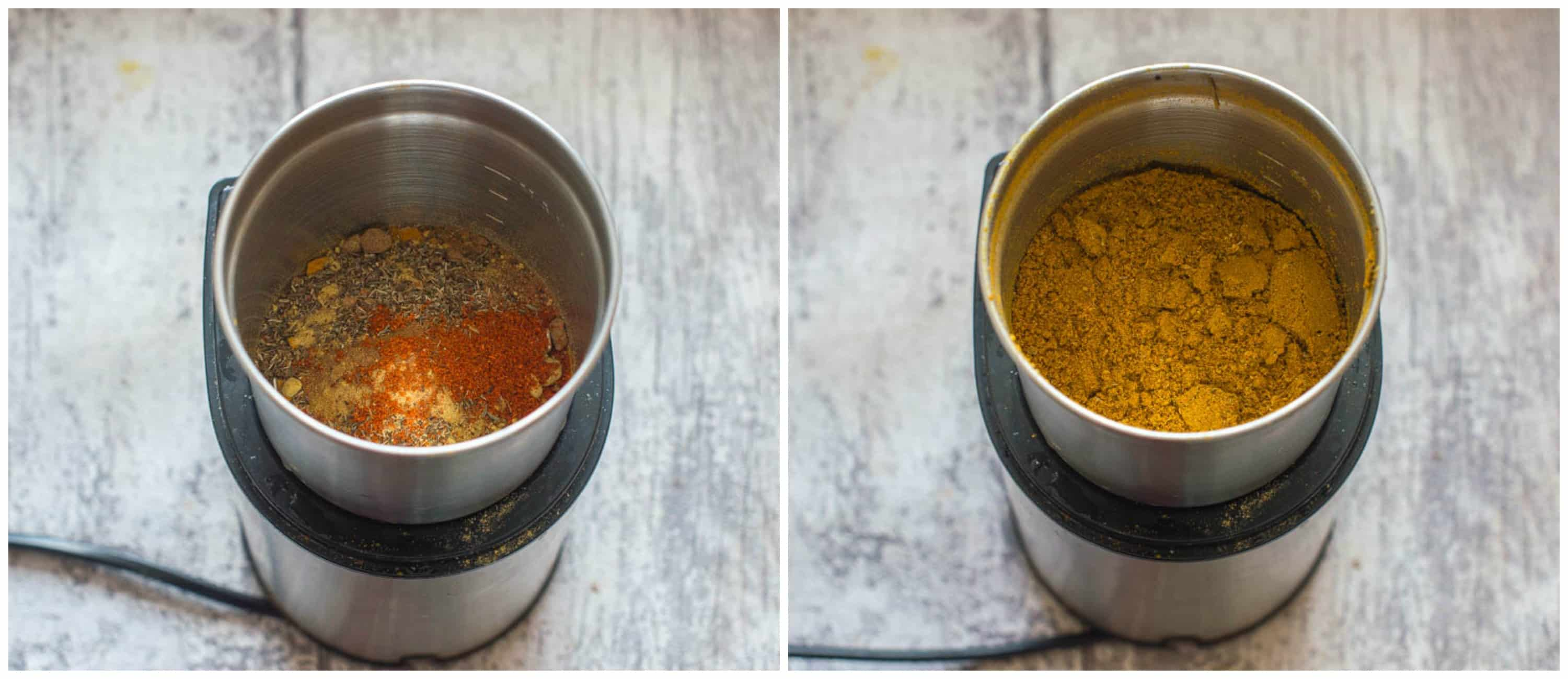 Jamaican curry powder steps 5 6 - Jamaican curry powder