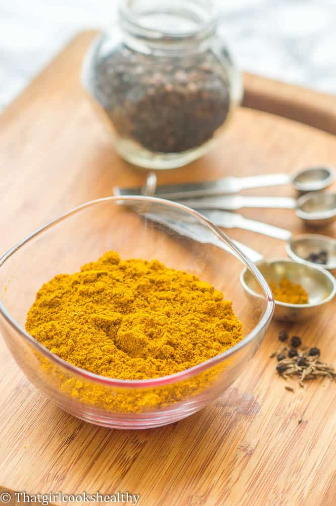 Jamaican curry powder