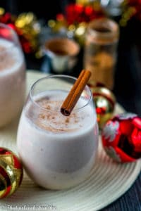 Coquito drink (vegan/alcohol free)