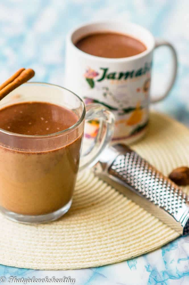 Jamaican chocolate hot - Jamaican hot chocolate (cocoa tea)