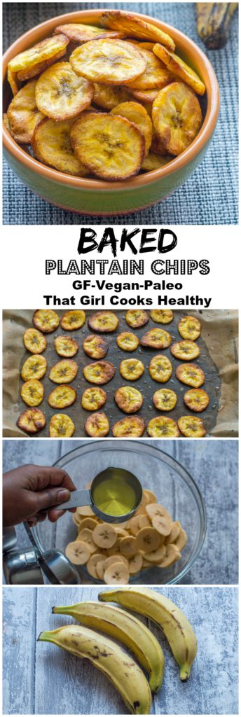 plantain chips collage