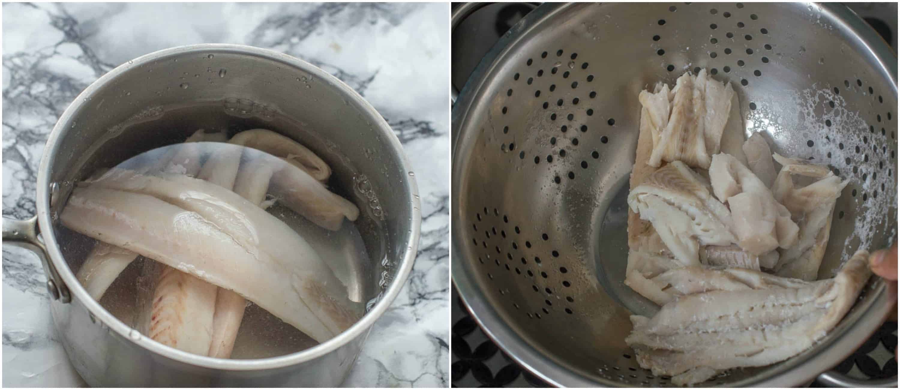 How to make salt fish steps 3 4 - How to make salt fish (unrefined version)
