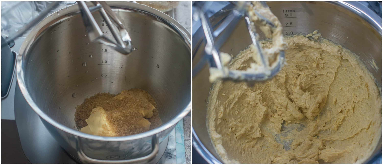 jamaican ginger cake steps 1-2