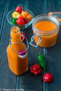 Scotch bonnet pepper sauce (BHM Pot Luck)