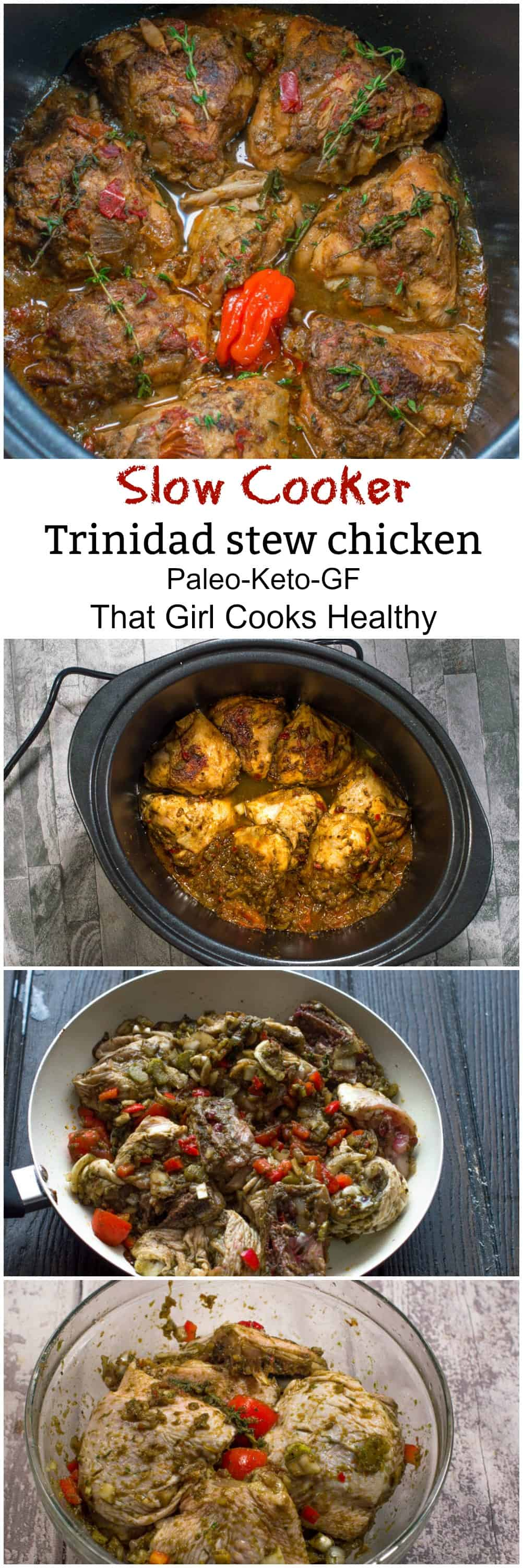 trinidad stew chicken
