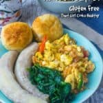 This delicious Ackee and Saltfish recipe is Jamaica's national dish made in one-pan for a satisfying, amazing, flavoursome meal! #ackeeandsaltfish #Jamaicannationaldish #breakfast