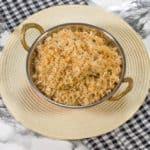 Toasted coconut caribbean rice