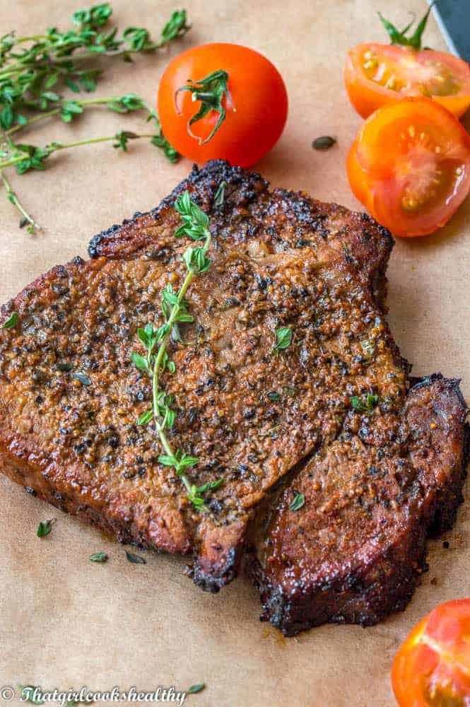 How to make air fryer steak