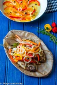 Delicious Jamaican escovitch fish