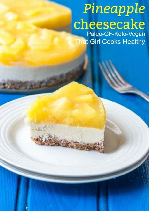 pineapple cheesecake pin