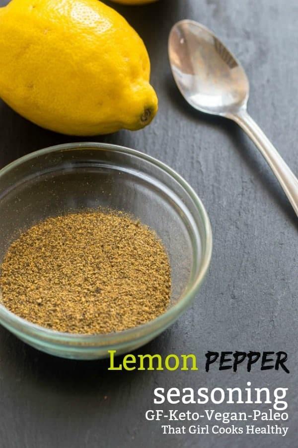 Learn how to make your own lemon pepper seasoning