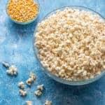 Instant pot popcorn with kernels