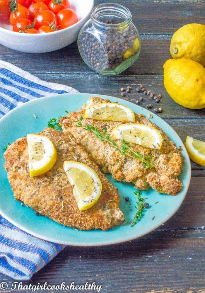 Delicious lemon pepper chicken