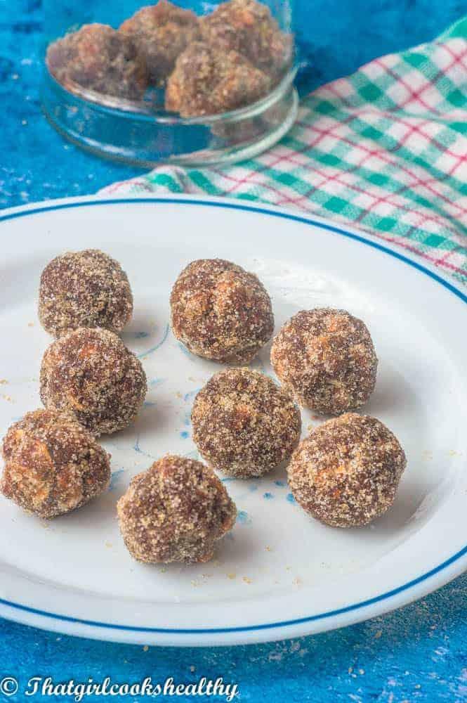 Delicious tamarind candy balls