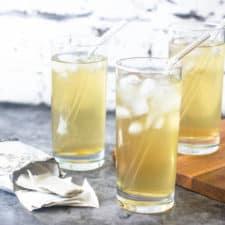 Iced cerasee tea