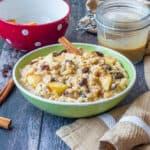 Slow cooker apple cinnamon oatmeal image 150x150 - Overnight slow cooker apple cinnamon oatmeal
