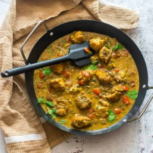 curry with a spatula