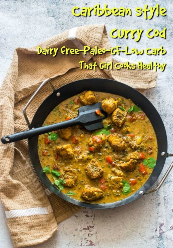 This delicious one pot Caribbean style curry cod can be on your dinner table in under an hour, fragrant, hearty tropical cuisine