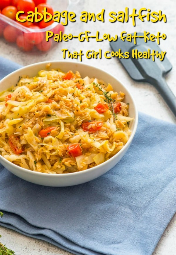 Enjoy a taste of Jamaica with this tasty cabbage and saltfish