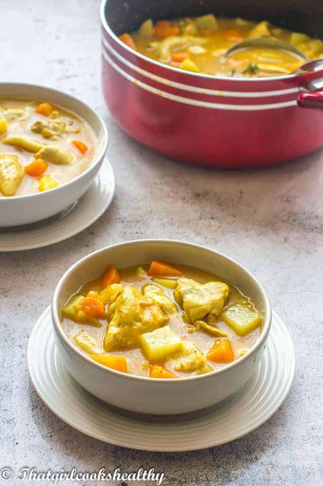 jamaican chicken soup that girl cooks healthy