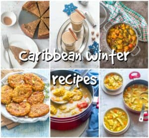 Caribbean winter recipes