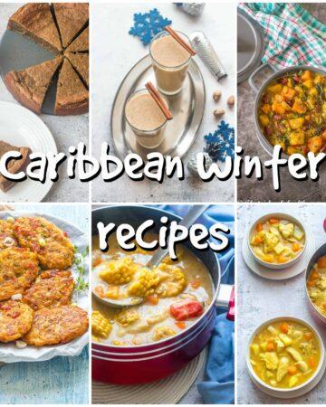 Caribbean winter recipes