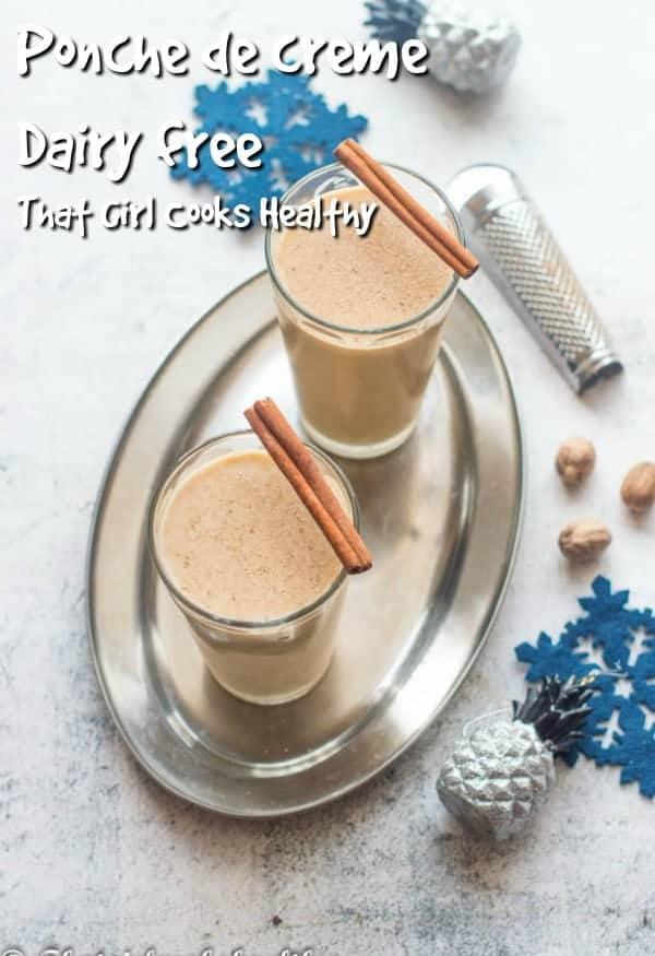 A dairy free version of Trinidad and Tobago's ponche de creme (aka Caribbean eggnog)