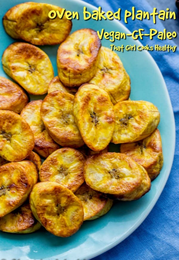 Kiss goodbye to fried plantain and embrace this oven baked plantain recipe, same results but healthier cooking method