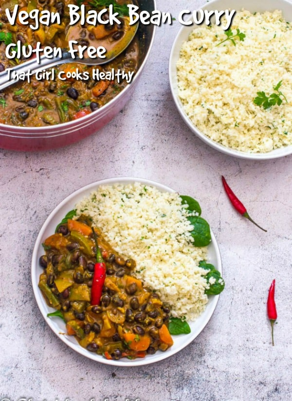 A vegan style one pot curry that's great for weeknights or meal prep days