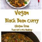 A vegan style one pot curry that's great for weeknights or prep days