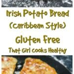 These Irish inspired sweet potato bread/Farls are Combination of Ireland and Caribbean flavour
