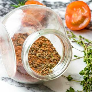 seasoning in a jar