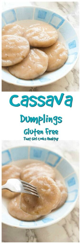 Learn how to make this quick, easy and effortless Cassava dumplings recipe